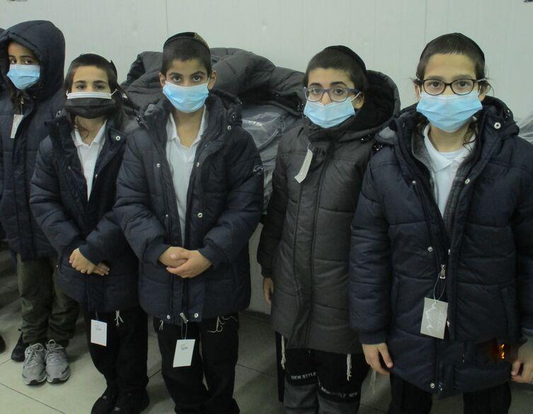 boys in winter coats