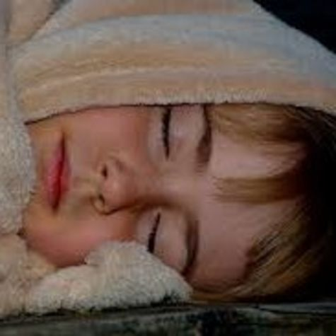 child in blanket
