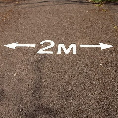 two meter distance