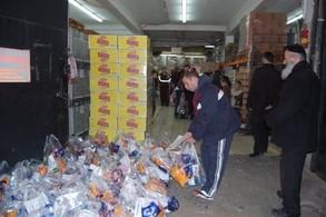 Care Packages for Soldiers Prepared by Dedicated Volunteers