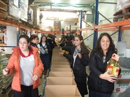 Tiferet Seminary Visits Yad Eliezer