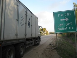 Yad Eliezer's trucks traversed the country to reach the battlefront.