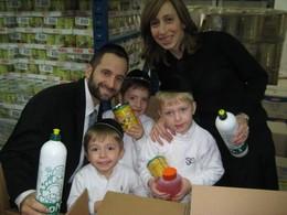 Our Chanukah Volunteers