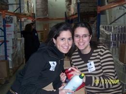 Seminary Volunteers at Yad Eliezer - Binah