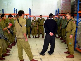 Israel's Soldiers at Yad Eliezer