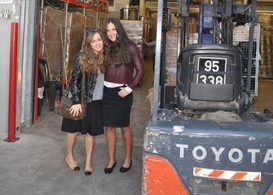 Sophia Mizrahi and Stephanie Hidary