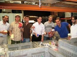 Yeshivat Darche Noam Volunteers at Yad Eliezer