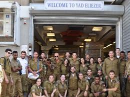 Soldier's Visit