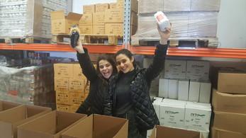 Shira Najjar and a friend
