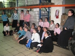 Y'fei Nof Seminary Visit Yad Eliezer