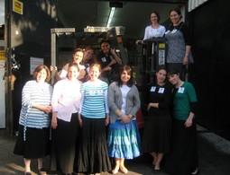 Midreshet Rachel V'Chaya visits Yad Eliezer