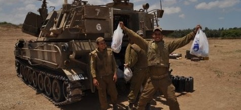 Protective Edge Package Deliveries - Yad Eliezer