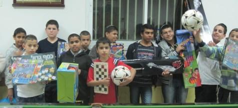 Toy Distribution 2012 - Yad Eliezer