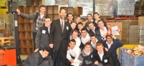 DRS High School Visits Yad Eliezer